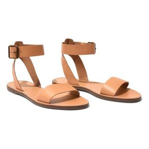 - Madewell The Boardwalk Leather Ankle Strap…